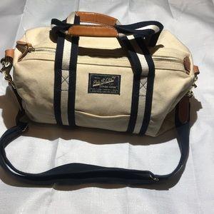 Polo Ralph Lauren &Co. Canvas Crossbody Bag.